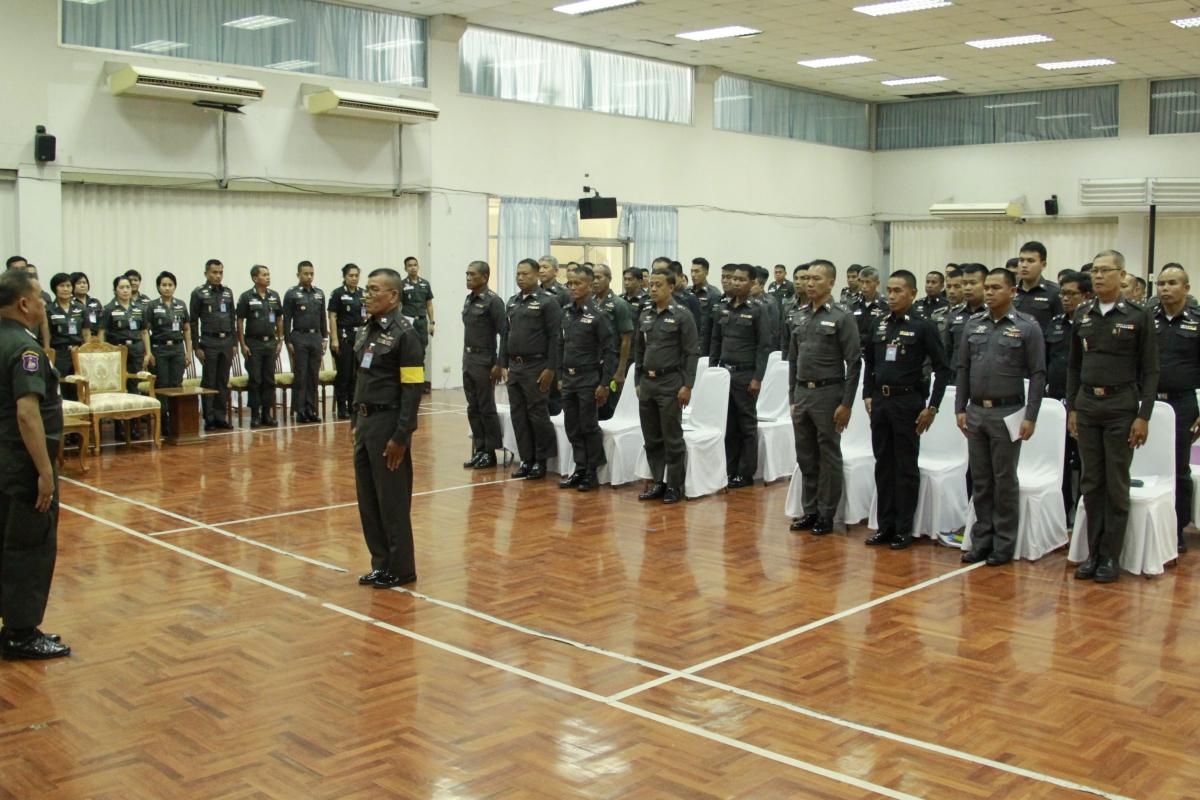 พล.ต.ต.ประพันธ์ จันทร์เอม รอง ผบช.ตชด. เป็นประธานในพิธีปฐมนิเทศข้าราชการตำรวจผู้เข้ารับการอุปสมบทหมู่ เฉลิมพระเกียรติสมเด็จพระศรีนครินทราบรมราชชนนี