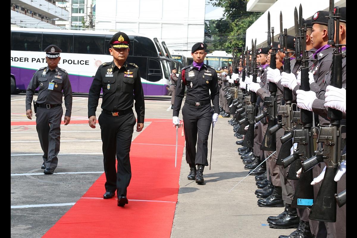 ผู้บัญชาการทหารสูงสุด ตรวจเยี่ยมและมอบนโยบายการปฏิบัติราชการ ให้แก่กองบัญชาการตำรวจตระเวนชายแดน