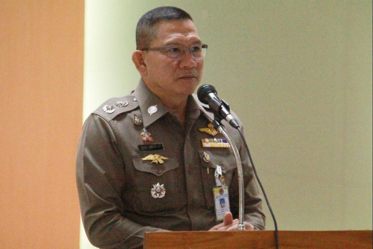 พล.ต.ต.สุนทร เฉลิมเกียรติ รอง ผบช.ตชด. เป็นประธานในพิธีสวดมนต์รวม ณ ห้องสโมสรตำรวจตระเวนชายแดน (101)