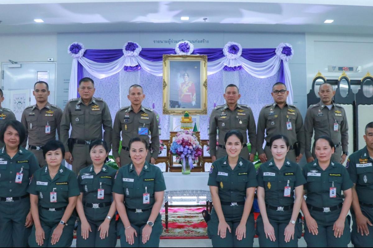 พล.ต.ท.วิชิต  ปักษา ผบช.ตชด. พร้อมคณะ เดินทางไปถวายพระพรสมเด็จพระกนิษฐาธิราชเจ้า กรมสมเด็จพระเทพรัตนราชสุดาฯ สยามบรมราชกุมารี ณ โรงพยาบาลจุฬาลงกรณ์ สภากาชาดไทย